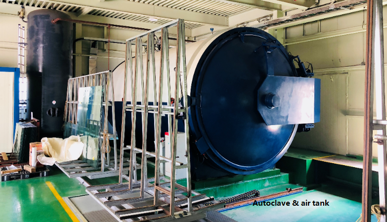 GF2550 Autoclave system for laminating line